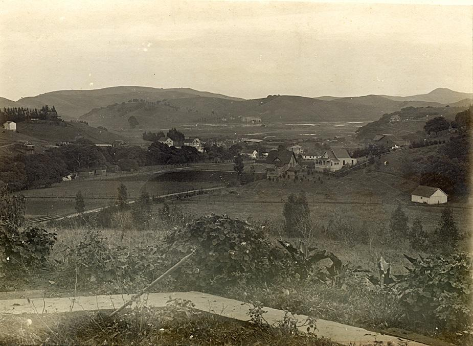 Homestead Valley in 1907.  >  click to enlarge