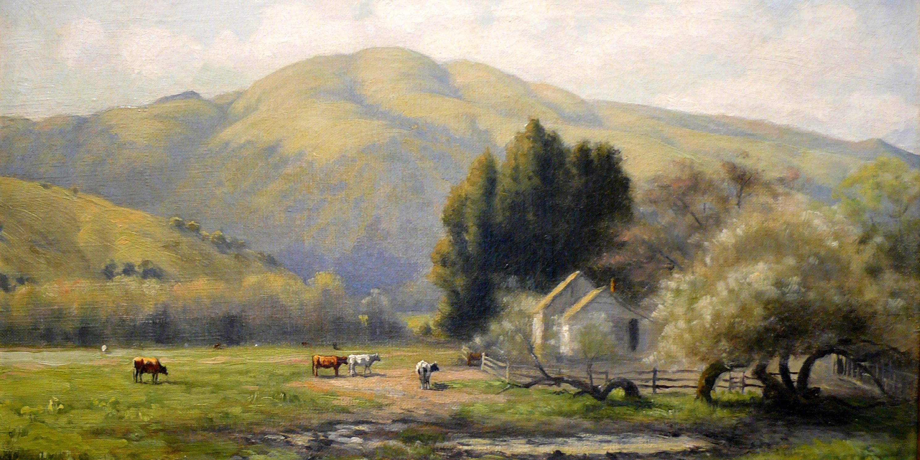 Homestead Valley Viewed from Millwood — 1903 - click to enlarge