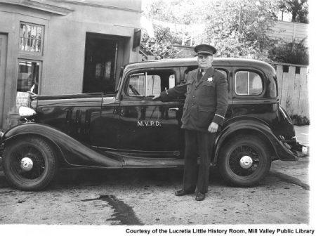 Mill Valley Chief of Police Alex McCurdy in 1933. MVN1347v1