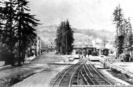 Mill Valley Train Depot c. 1905-1910. MVN1684