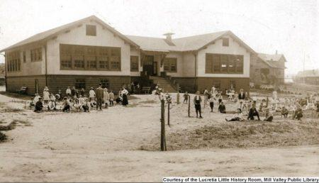 Mill Valley's Park School in 1910. MVU2016v1