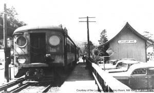 The Laverne Avenue station. MVU1435