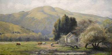 1903 painting of Lion Hill
