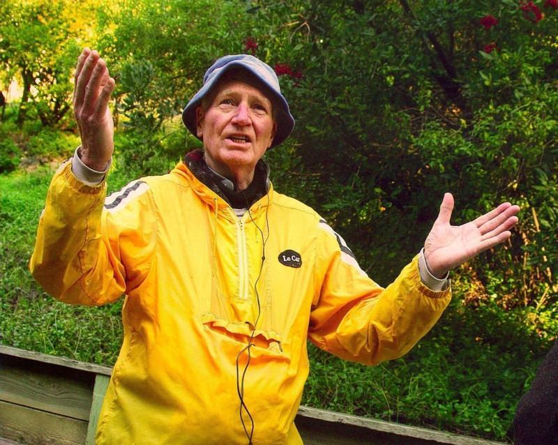 Chuck Oldenburg reflects on his life in Homestead Valley.