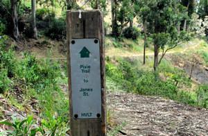 Pixie Trail Sign
