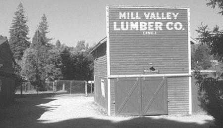 Mill Valley Lumber Company, old barn - Photo by Tim Amyx