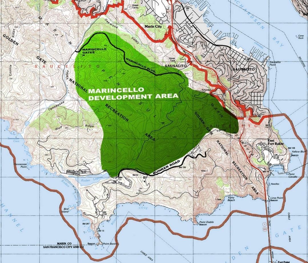 Marincello Map