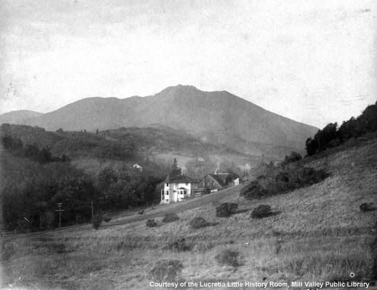 Blithedale Hotel Courtesy of the Lucretia Little History Room, Mill Valley Public Library