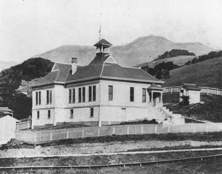 Summit School – 1892 (note the outhouse)