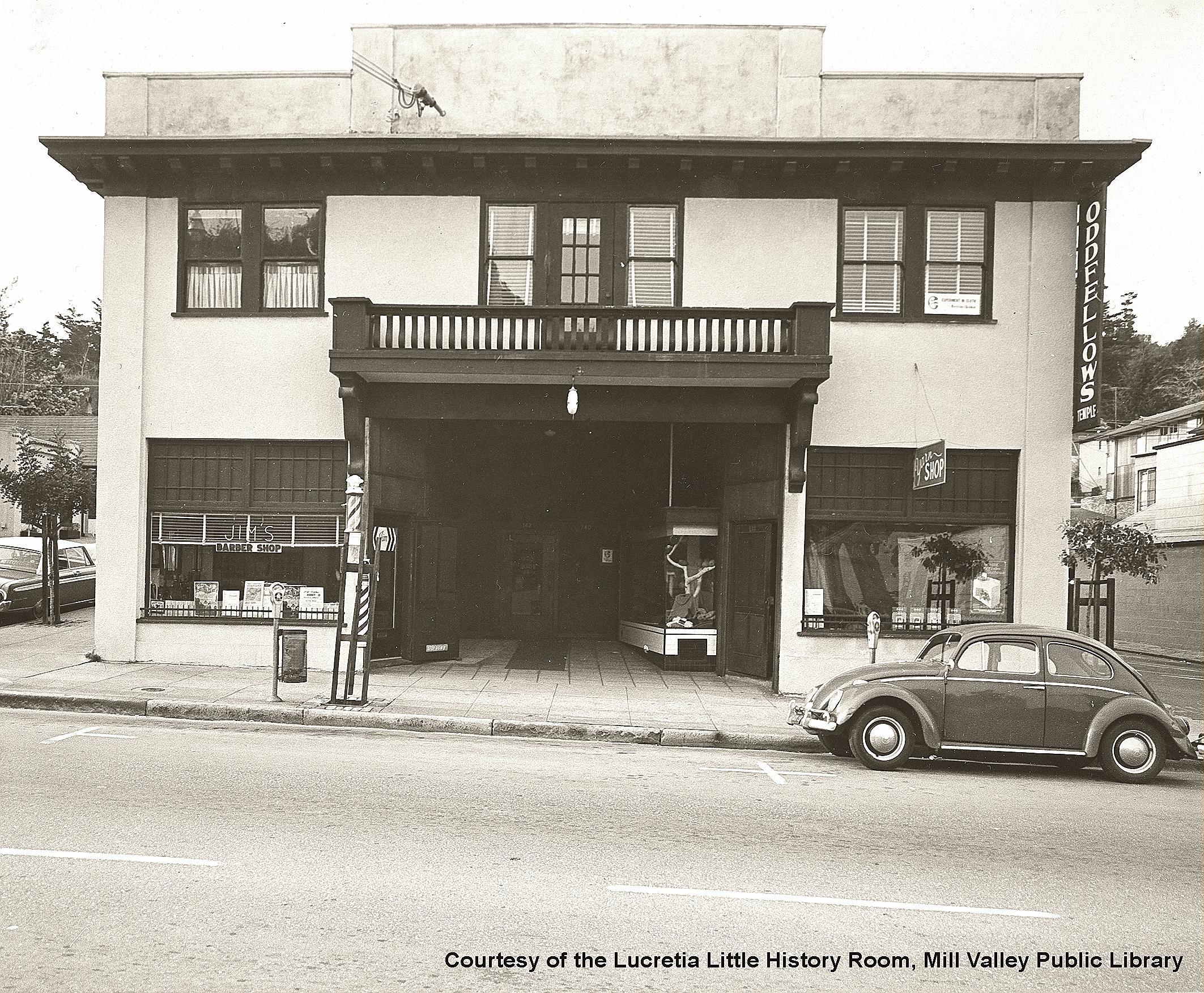 Oddfellows Temple - 1967 > click to enlarge
