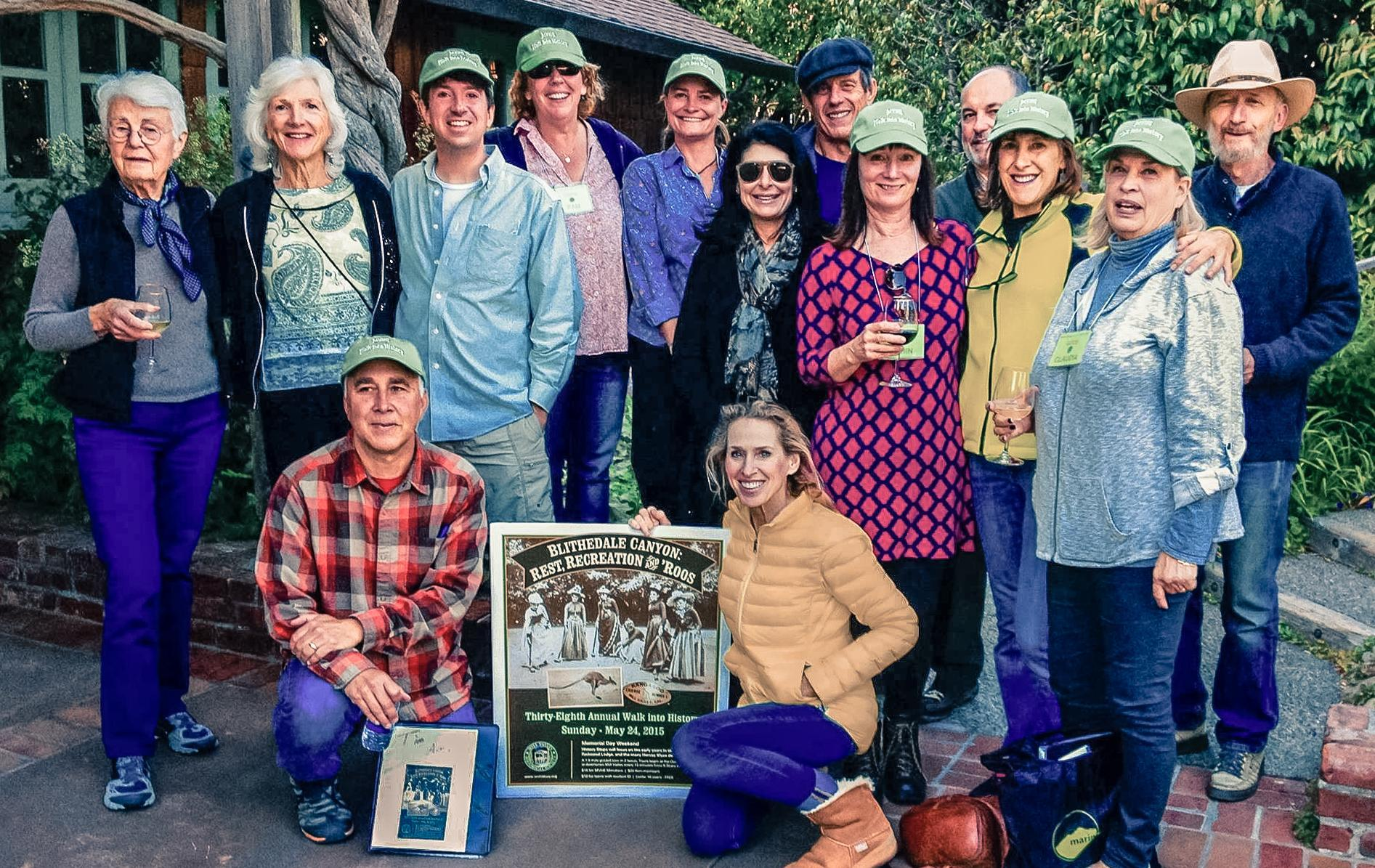 """Some of the 2015 38th Annual Mill Valley Historical Society's """"Back into History"""" Tour guides - click to enlarge"""