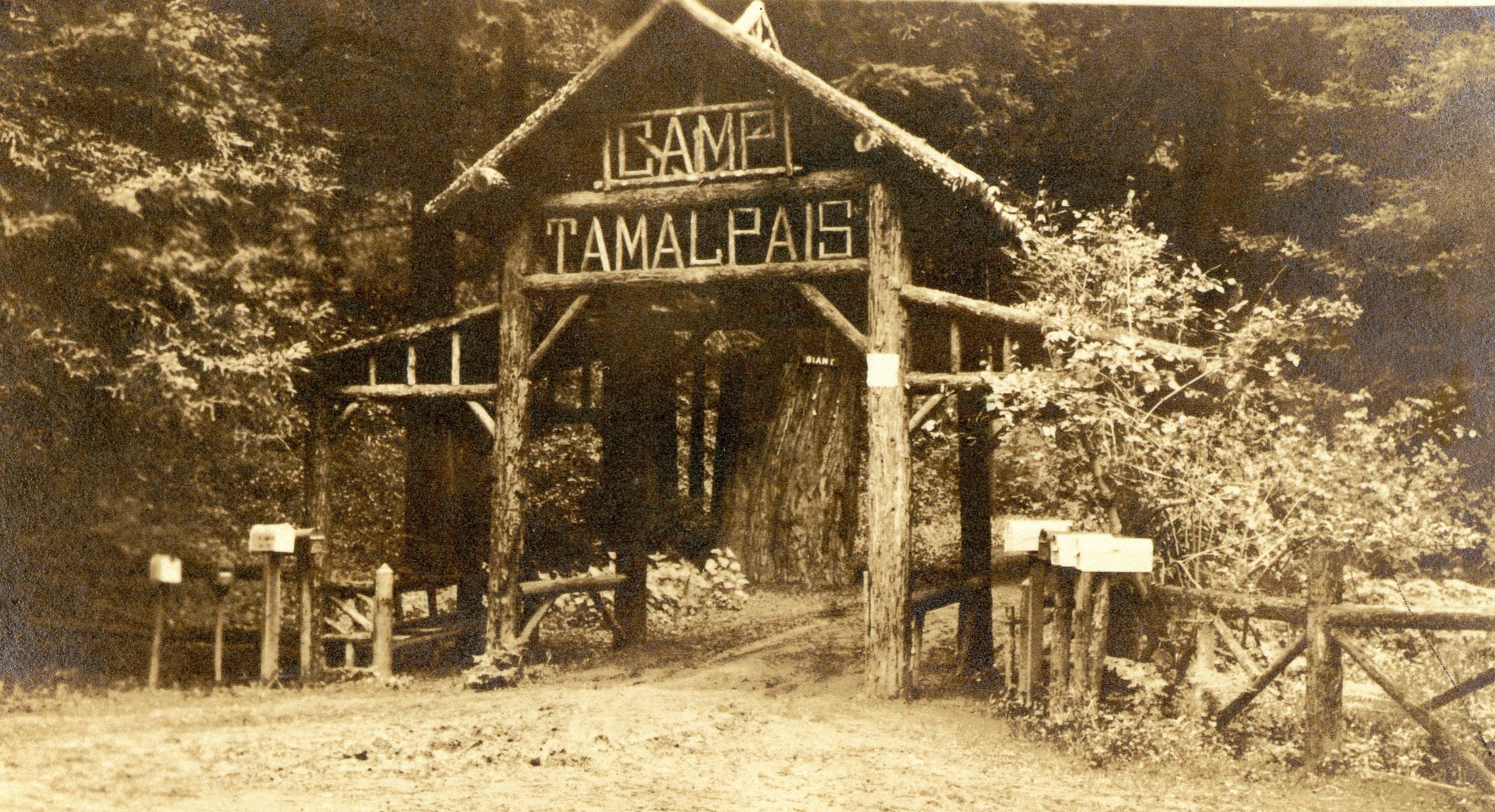 Camp Tamalpais - 1918