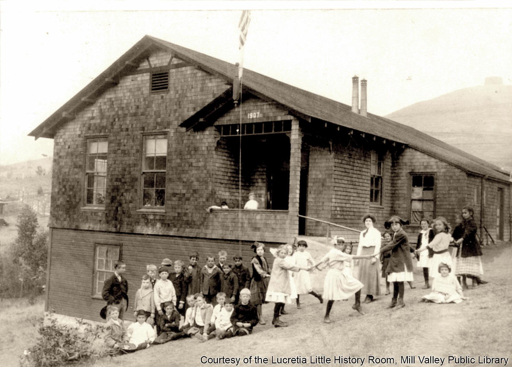 Homestead School - 1908