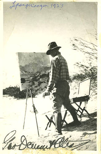 George Demont Oits in Southern California c. 1923
