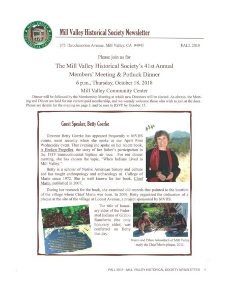 thumbnail of MVHA Newsletter 2018